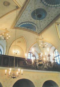 Synagoga Březnice - strop