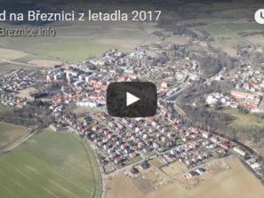 Pohled na Březnici z letadla - náhled
